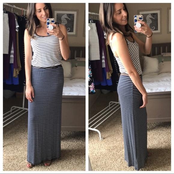 Tart Dresses & Skirts - NWT {Tart} striped maxi dress